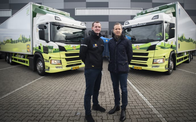Head of Logistics Allan Nielsen (TV) and Chief Operating Officer Marcus Gustafsson