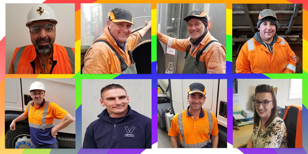Image: Staff at Warrens Emerald Biogas