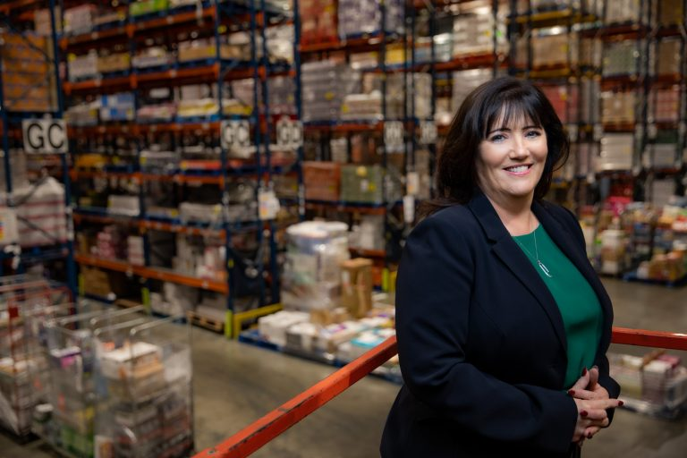 Image: Joanne Mellon, logistics director at BWG Foods
