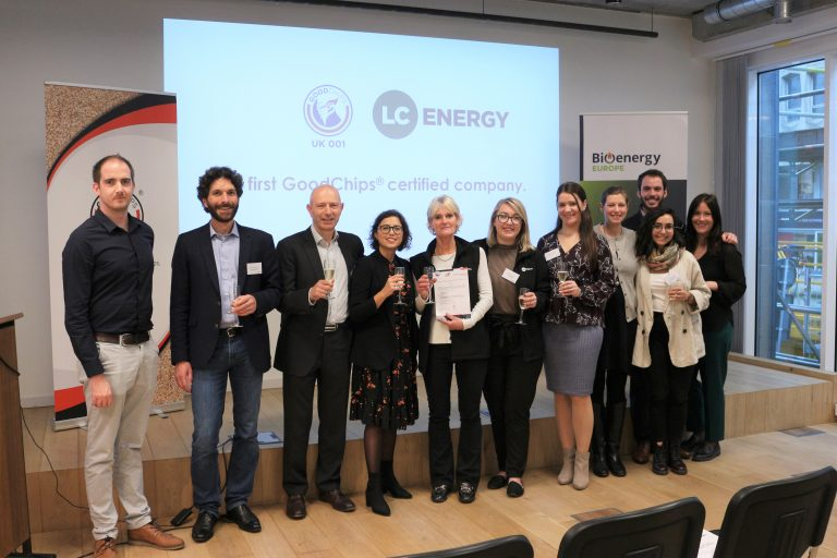 Image: Bioenergy Europe team and LC Energy representatives