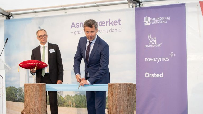 His Royal Highness The Crown Prince of Denmark and Executive Vice President Morten Buchgreitz, Ørsted