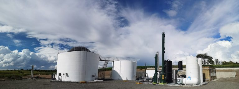 Ductor's first, large scale commercial biogas facility was opened in Jalisco, Mexico in October 2019. Image: Ductor