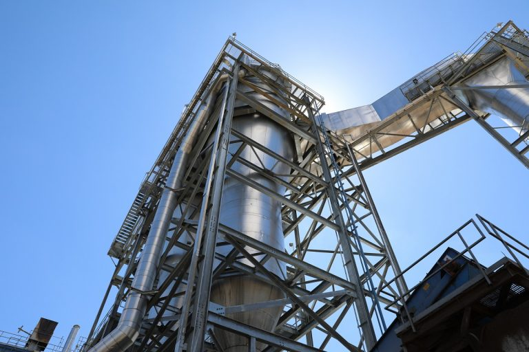 Morehouse BioEnergy, an existing Drax Biomass wood pellet plant located in Louisiana, close to the border with Arkansas.
