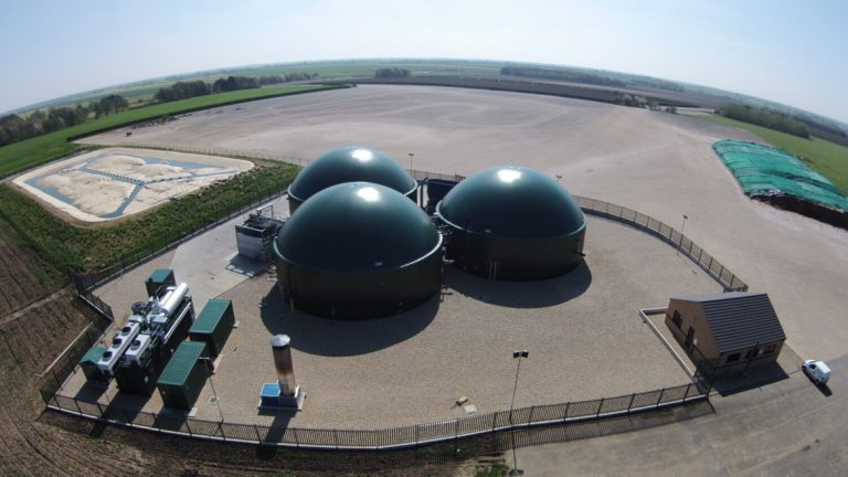 Biogas plant built by HoSt in Spilsby, UK